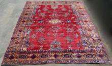 Large Vintage Oriental Rug