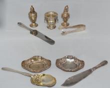 Interesting Vintage Sterling Silver Serving Pieces