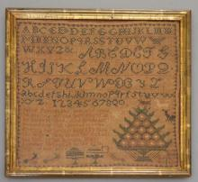 Intricate  sampler By Louise Bello  1826