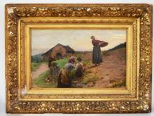 View Louis-Emile Adan art prices and auction results