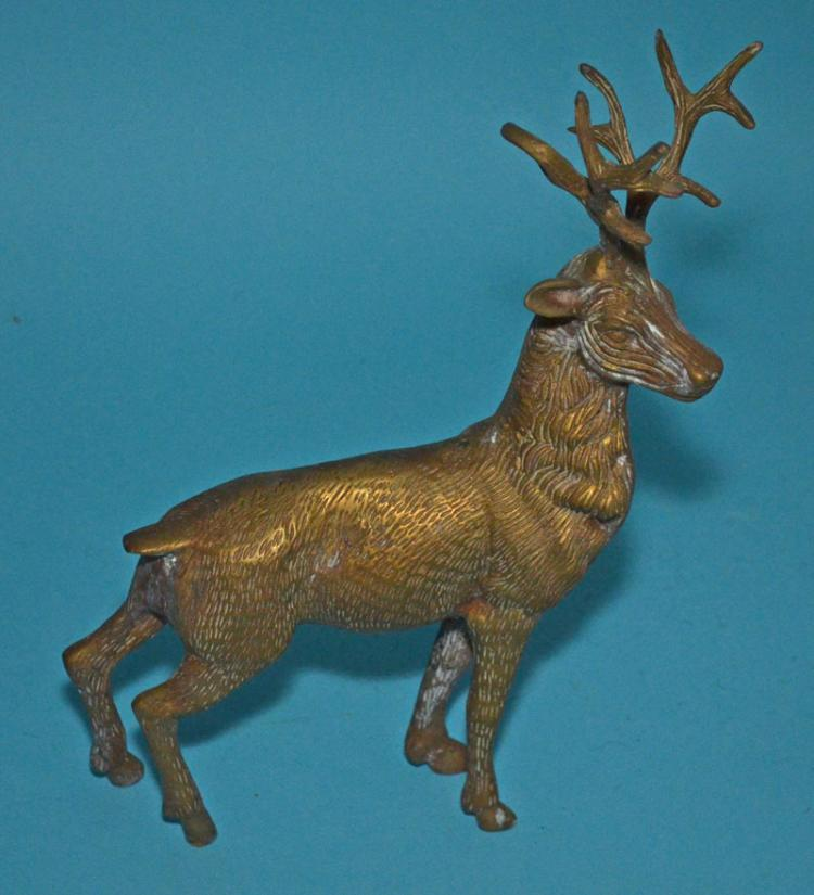 Metal lot including frames bookends stag - Stag book ends ...