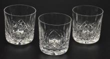 Set Of  14 Lismore Waterford Old Fashioned