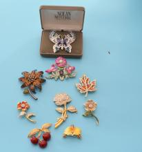 Signed Nolan Miller & Joan Rivers Costume Jewelry