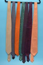 Lot Of 7 Designer Brioni Ties