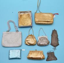 Collection of Mesh Bags (Whiting & Davis)