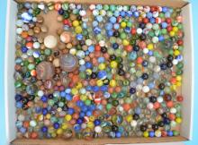 Lot of Antique Marbles (Including Clay)