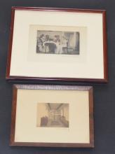2 Signed Wallace Nutting Interior Scenes