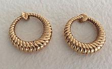 Pair of 14K Earrings