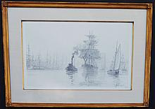 John Stobart Limited Edition Ship Etching