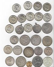 Lot Coin Lot: Foreign Napoleon Gold Silver American