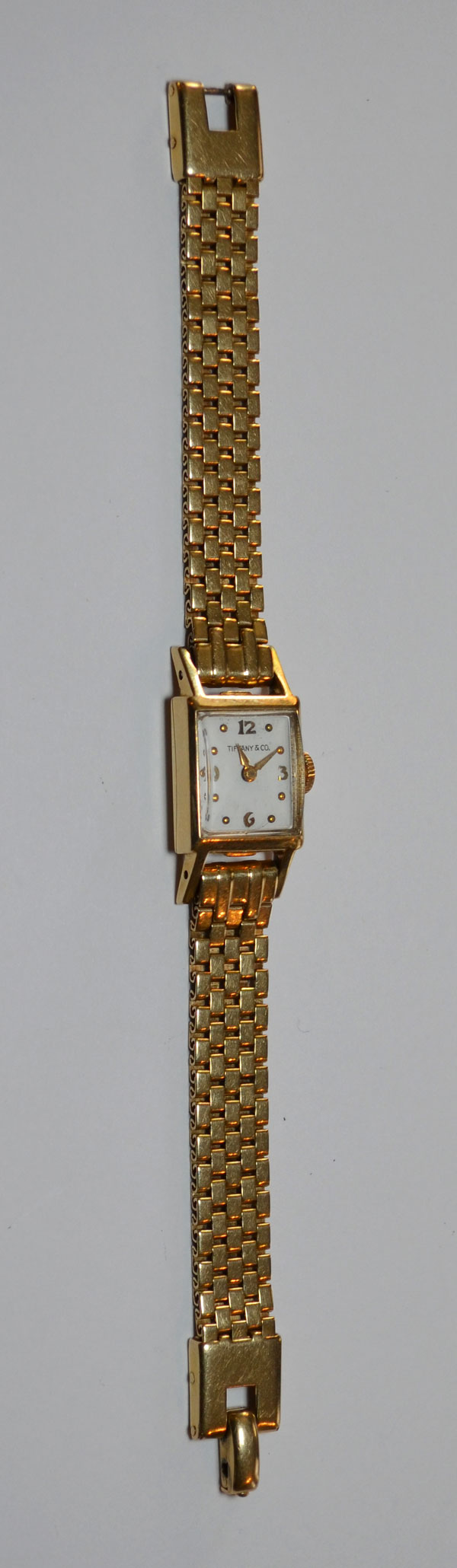 Charming Vintage Tiffany & Co. 14k Gold Watch