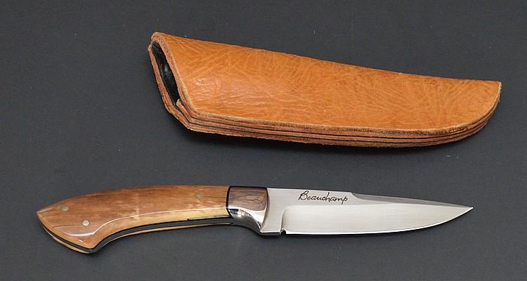 Beauchamp Fossilized Walrus Tusk Knife