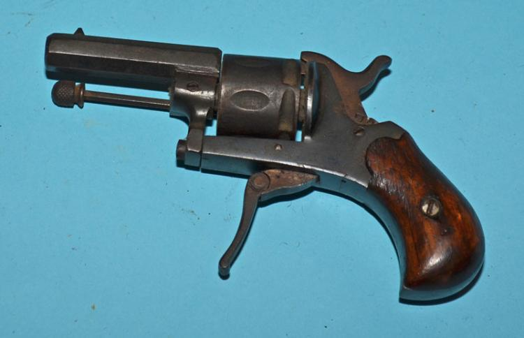 Miniature German Folding Trigger Revolver