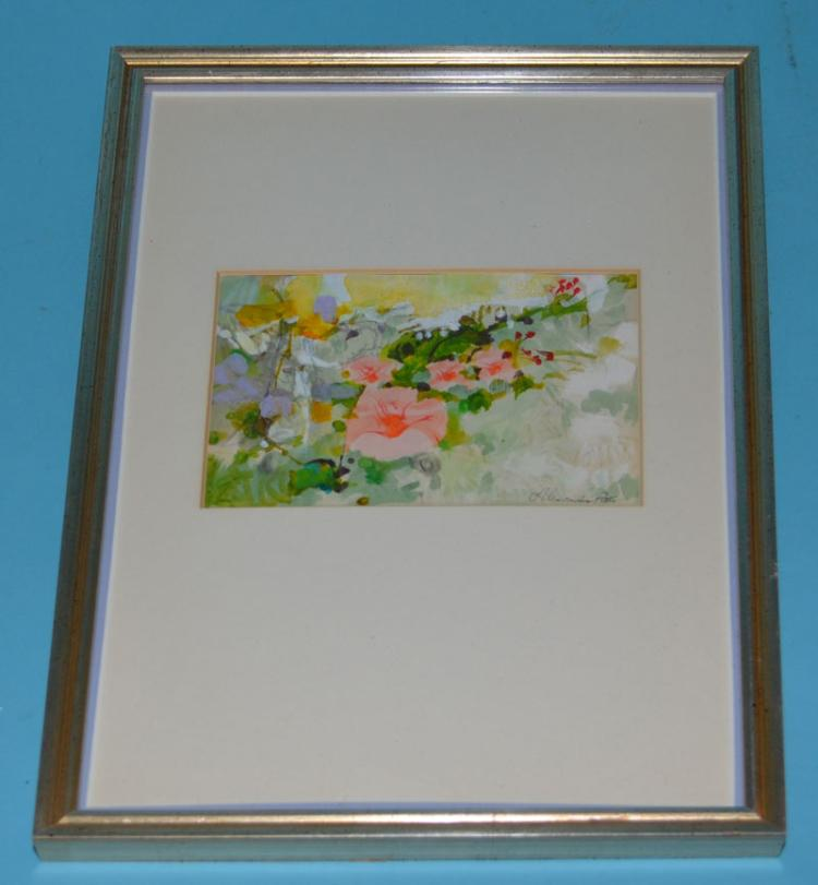Alexander Ross Signed Watercolor
