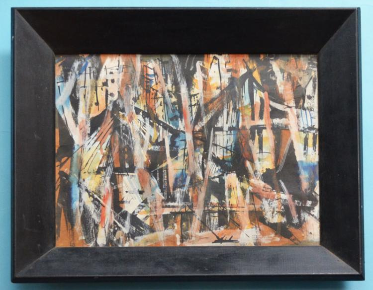 Michael Ross Small Abstract Painting