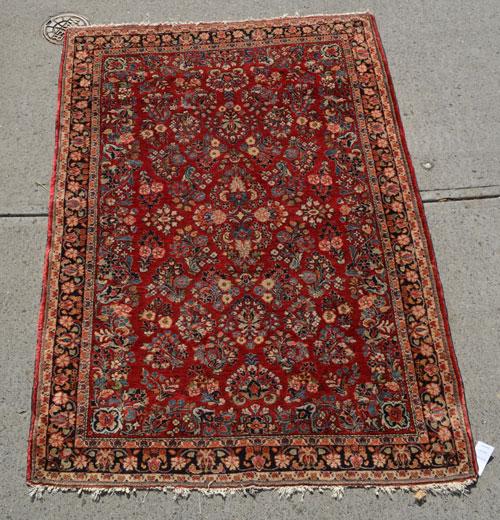 Stunning Vintage Oriental Rug / Carpet