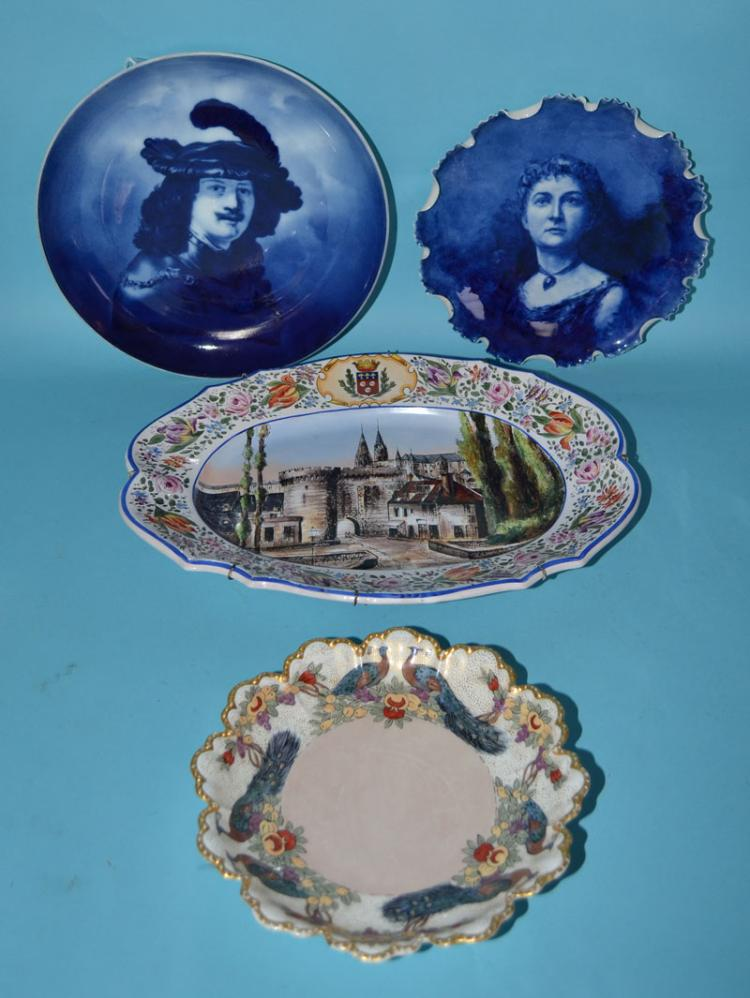 China & Pottery Lot inc. Portrait Plates