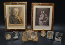 Lot of Vintage & Antique Picture Frame Lot