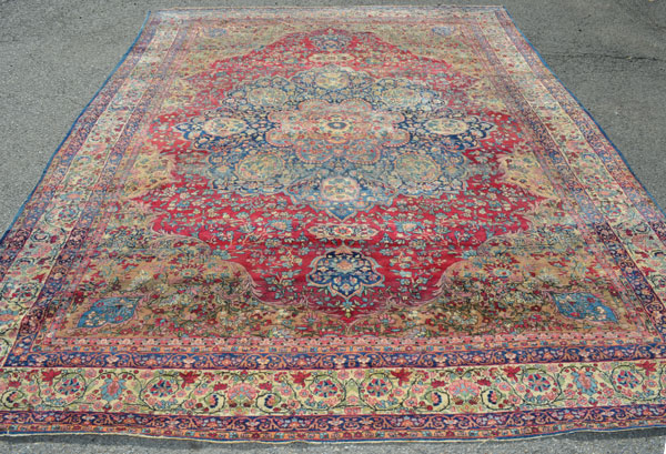 Stunning Room Size Antique Oriental Rug