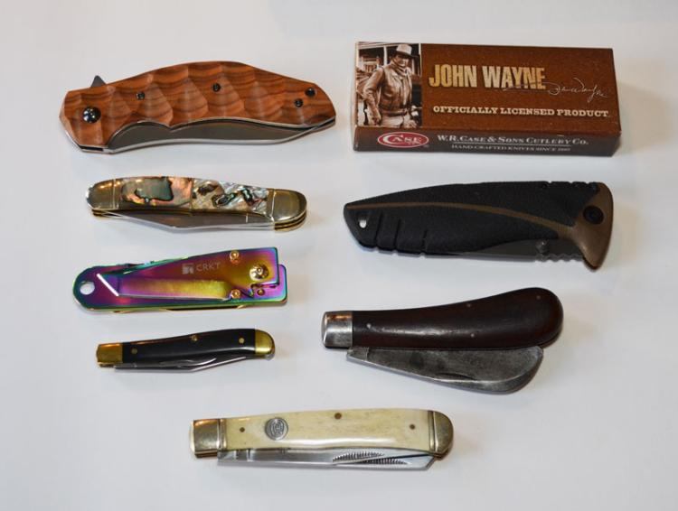 Collection of High End Knives