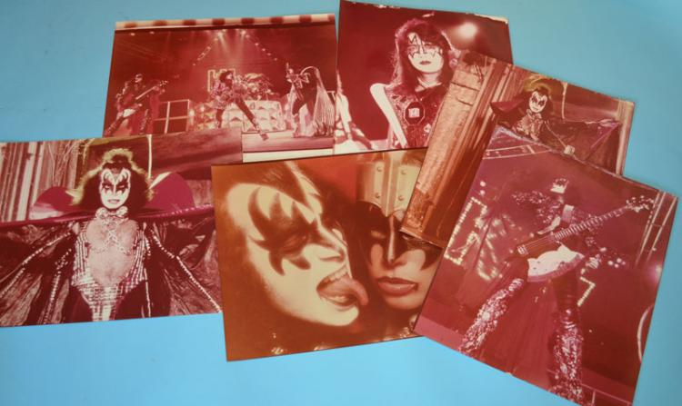 9 Private Collection KISS & Rock Photographs