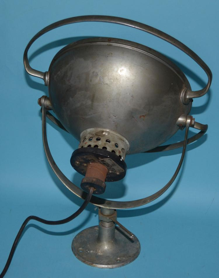 1950s Medical / Industrial Spotlight Lamp