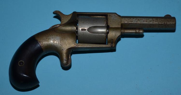 American Aries No 38 Antique 5 shot .38 Rimfire Revolver