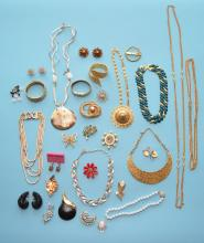 Lot of Designer Costume Jewelry (Haskell, Coro)