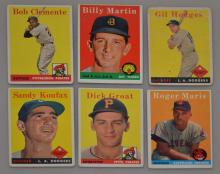 Early 1950's Bowman Baseball Cards ( Martin , Marris)