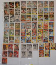 71 Topps And Bowman 1953 - 1955  Baseball Cards