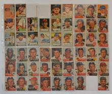Lot Of 99 Early 1952-54  Topps Baseball Cards