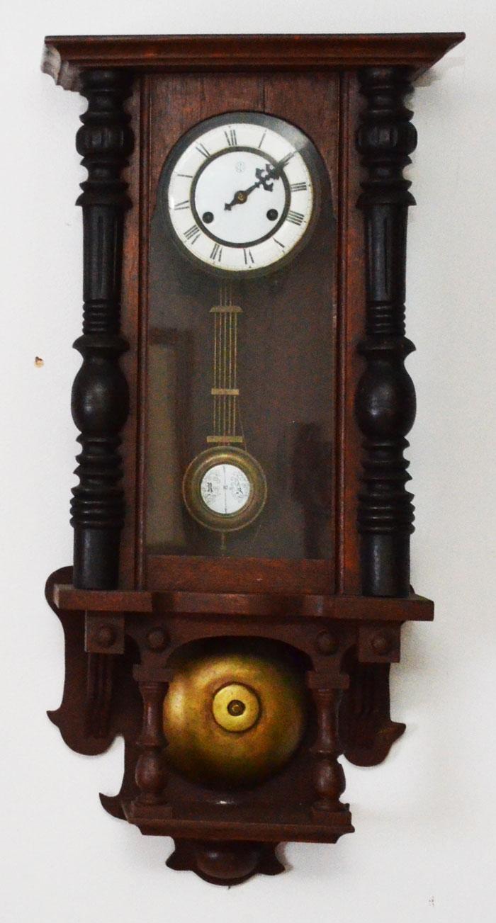 Antique C B I E Pendulum Wall Clock