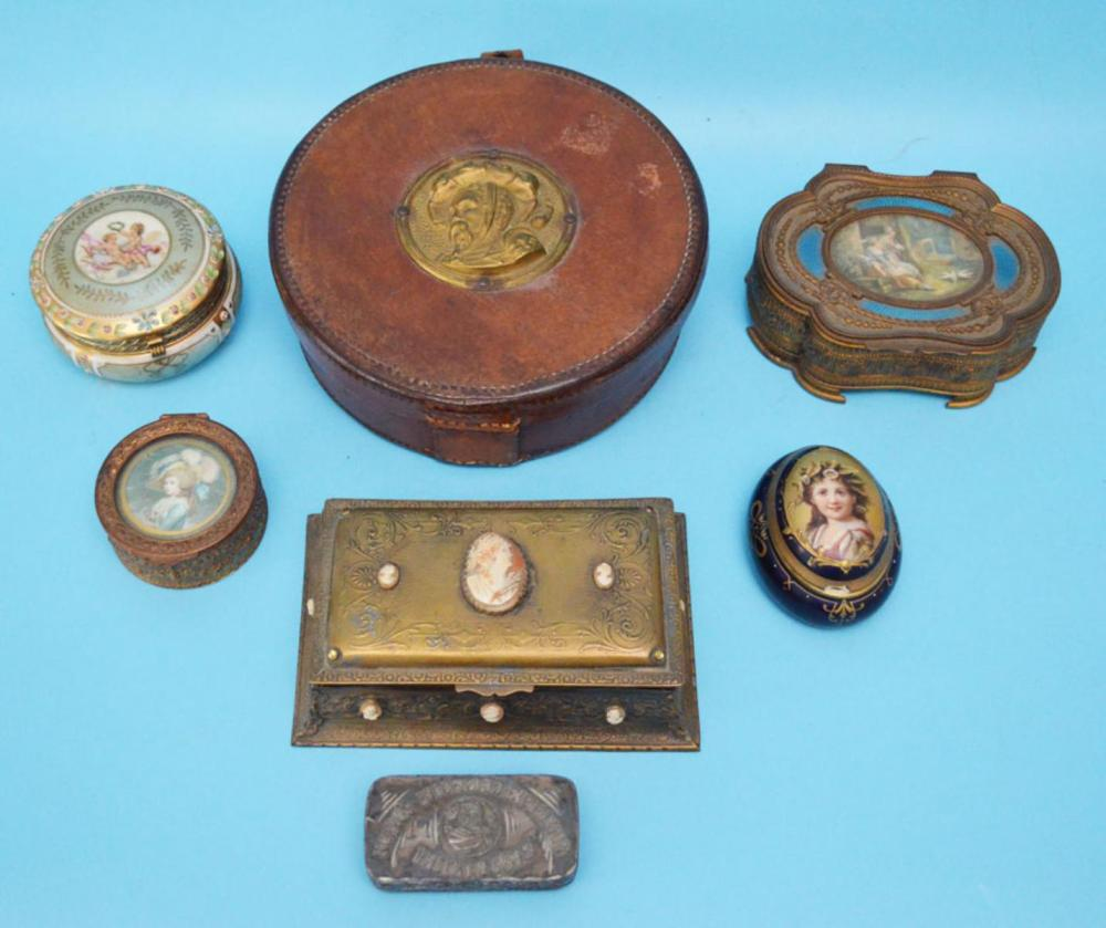 Group Of Unusual French And Italian Boxes