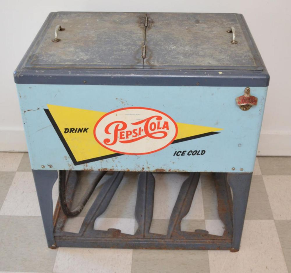 Really Cool 1950's Standing  Pepsi Drink Cooler