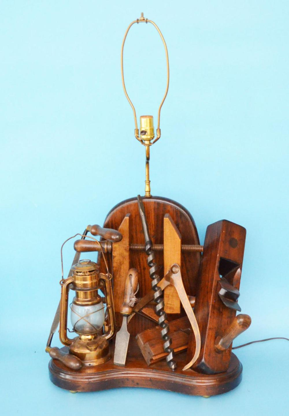 Whimsical  One Of A Kind Tool Lamp