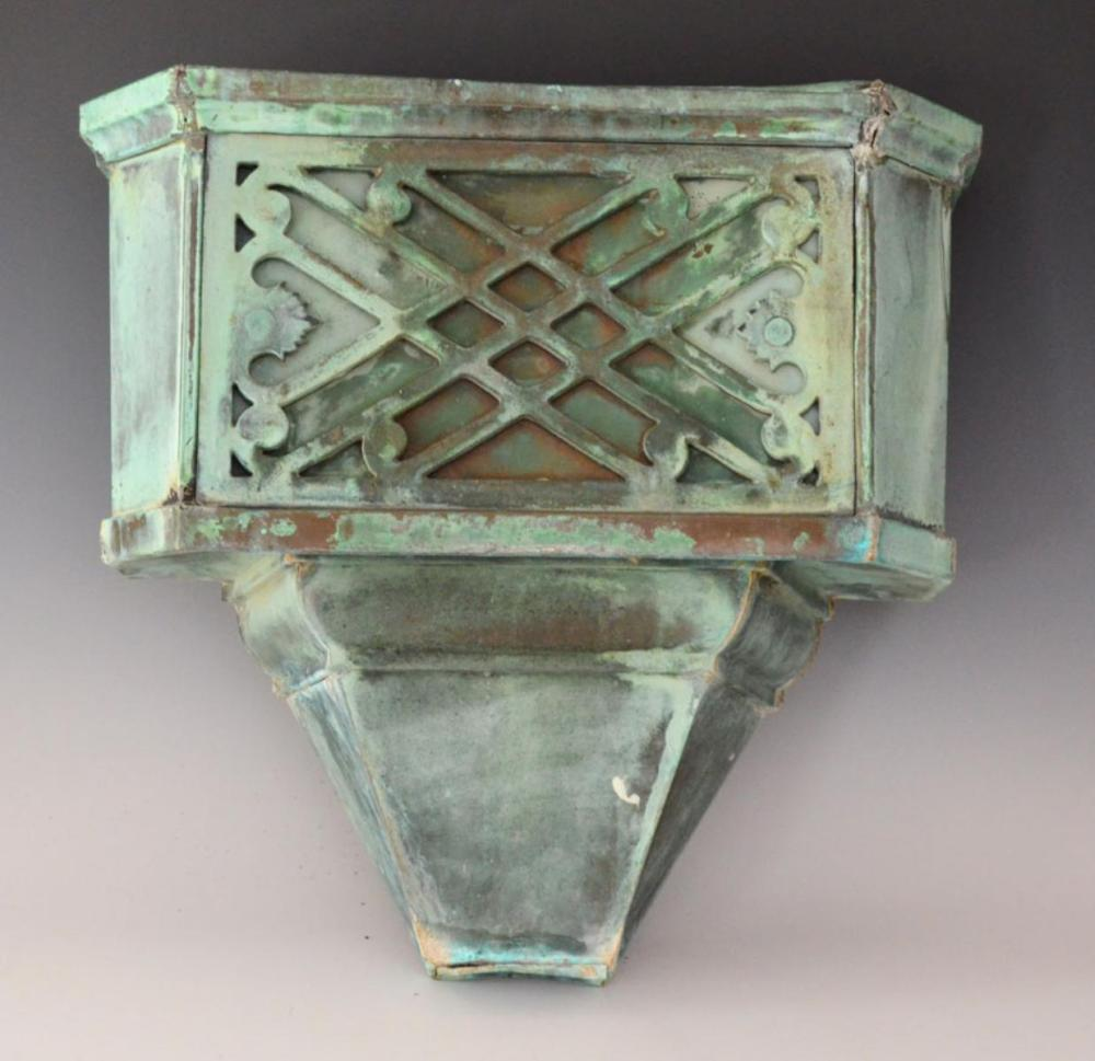 Antique French Copper Downspout