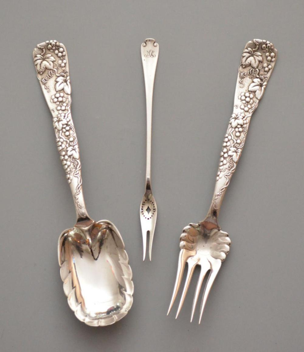 Tiffany & Co. Sterling  Grapevine Serving Pieces