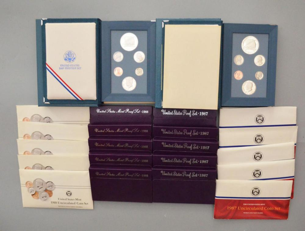 Lot of American Coin Proof Sets (Prestige)