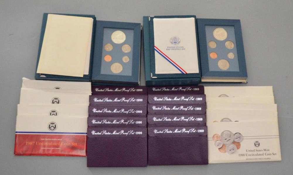 Lot of American Coin Proof Sets