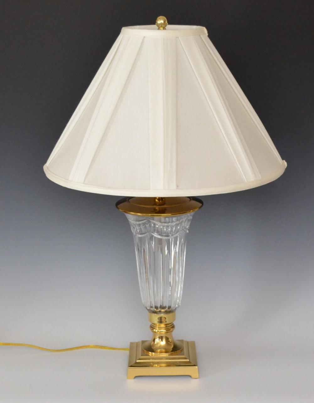 Stunning Waterford Crystal Table Lamp