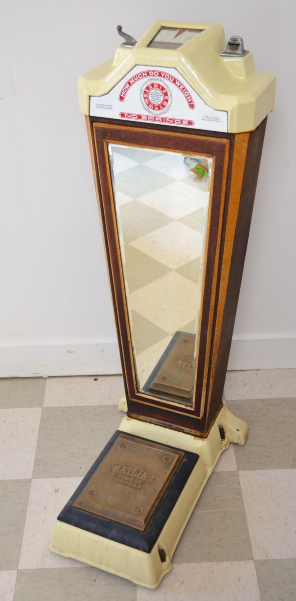 Watling Coin Operated  Art Deco Scale