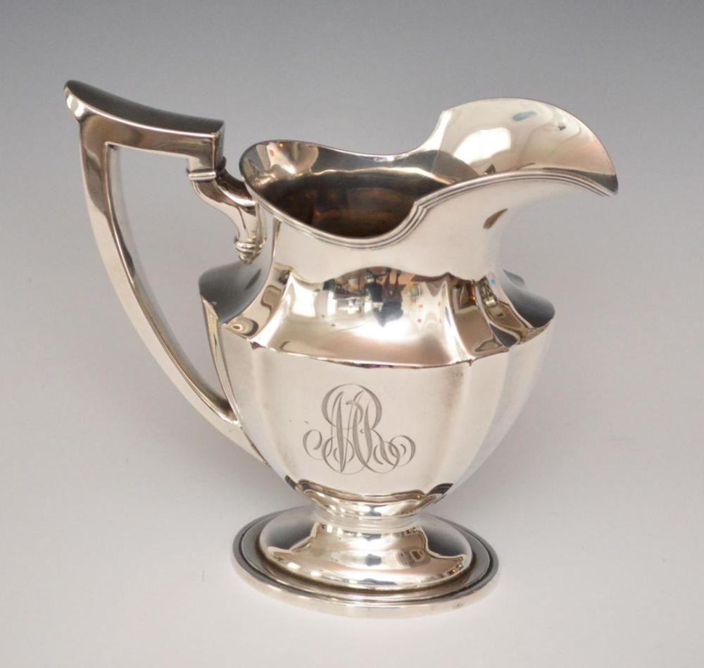 Gorham Plymouth Sterling Silver Pitcher