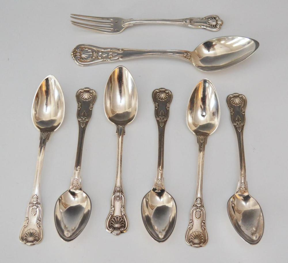 French Sterling Silver Spoons (Includes Mahler)