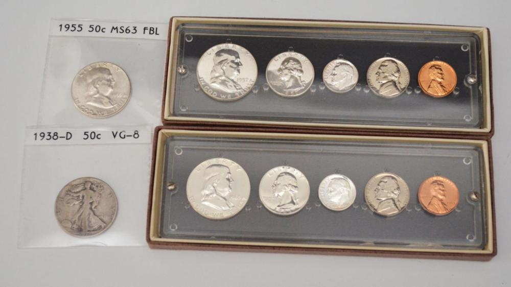 Collection of Half Dollars & Proof Sets