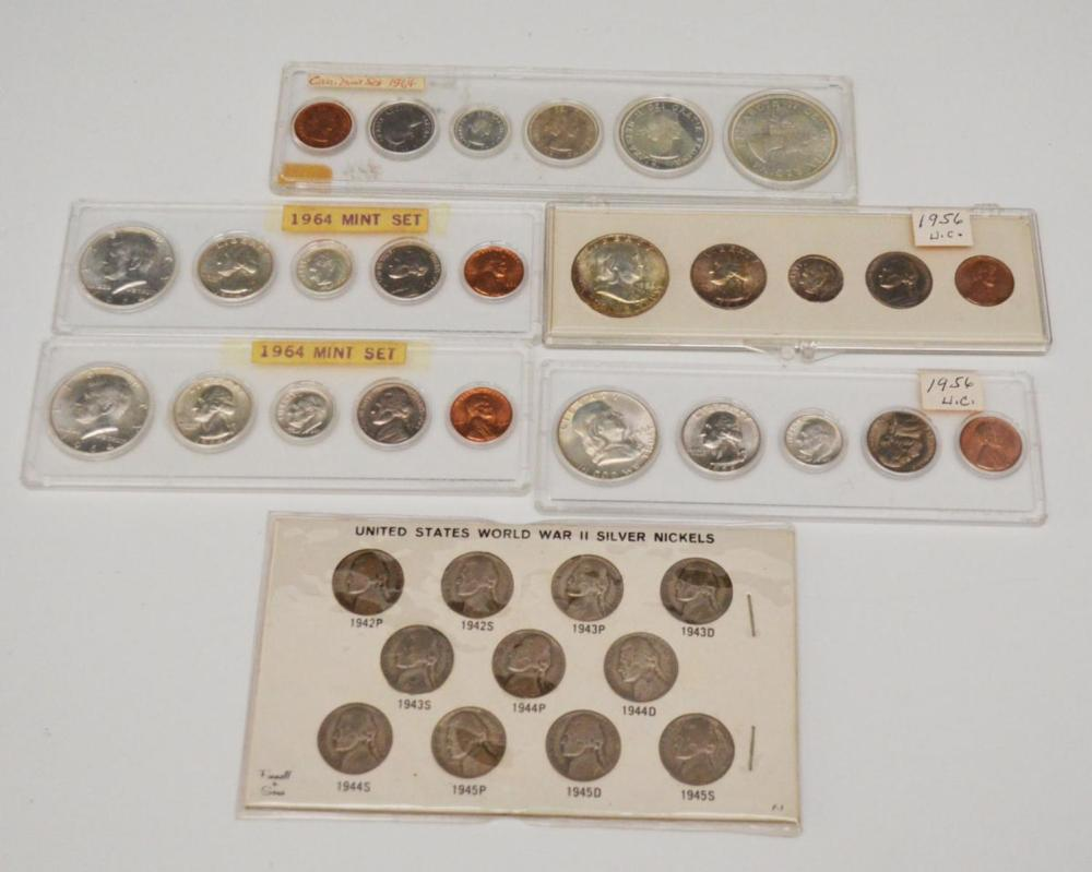 Group of Coin Proof Sets & Collectible Coins