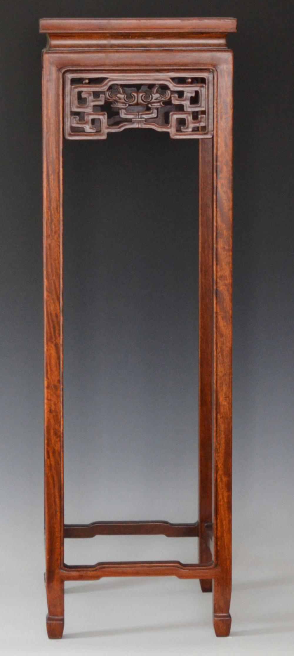 Antique Tall Chinese Plant Stand