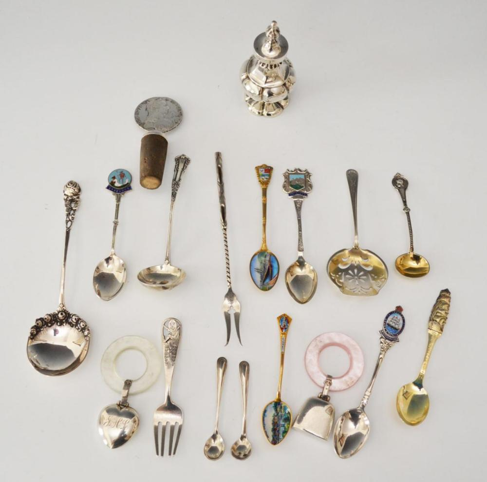 Wonderous Lot of Unusual Sterling Silver Smalls
