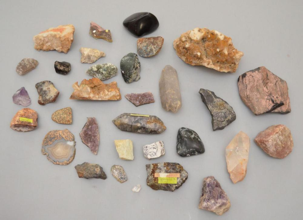 Generous Lot of Mineral Specimens