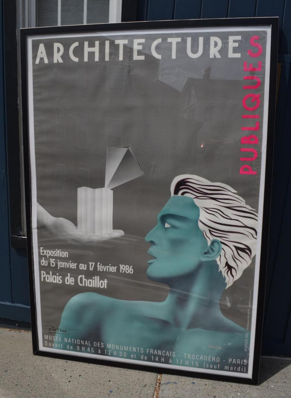 Hand Signed Razzia Architecture Poster