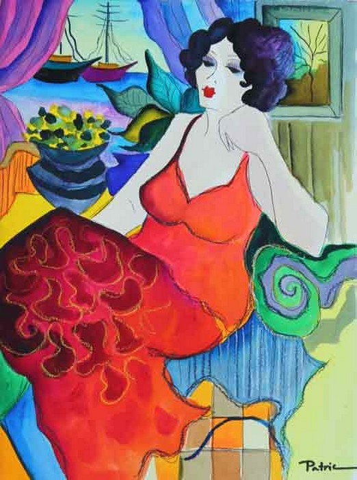 Beautiful Original Watercolor on Fine Paper by Patricia Govezensky